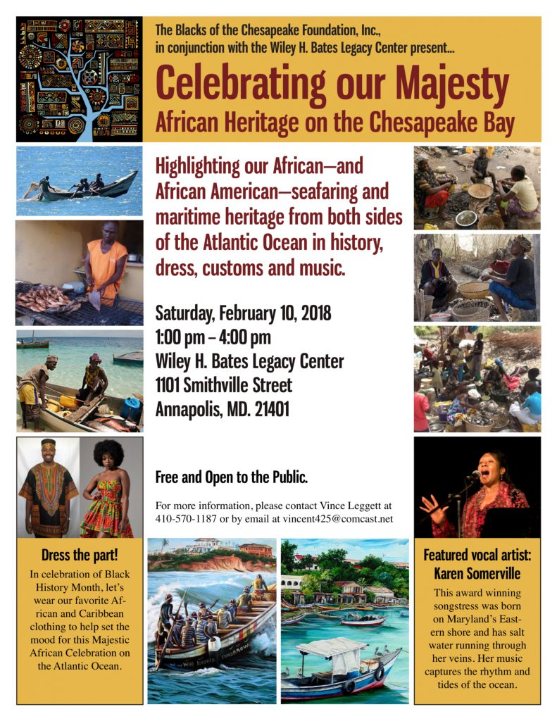 Celebrating our Majesty: African Heritage on the Chesapeake Bay