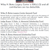Wiley H. Bates Legacy Center Needs Your Support